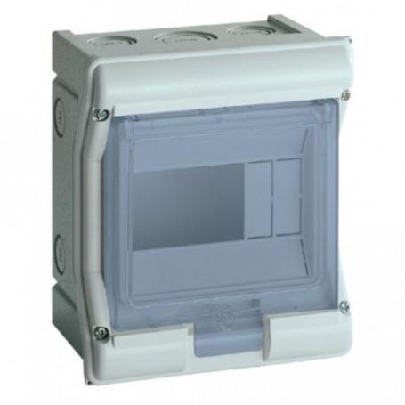 HAGER VE106F - Coffret étanche Vector IP 55 4/6 modules