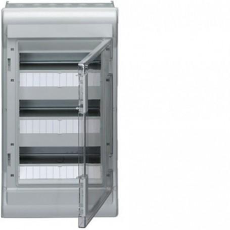 HAGER VE312F - Coffret étanche Vector IP55 3x12 modules