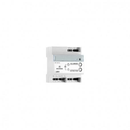 URA 140012-Télécommande URA bi-fonctions BAES/BAEH