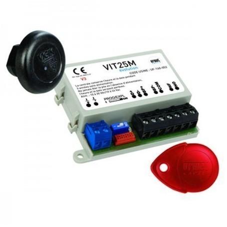URMET VIT25M - Kit micro centrale avec lecteur et badge