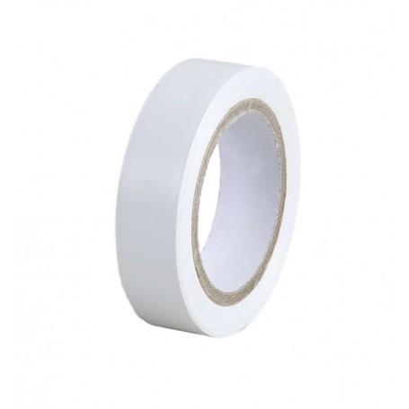 EUROHM 72006 - Lot de 10 Ruban, adhésif isolant, Blanc
