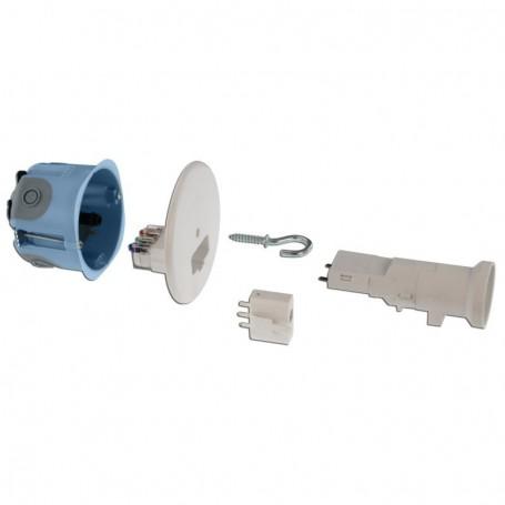 EUROHM 53064 - Kit point de centre BBC 67mm + douille DCL E27 2 entrées