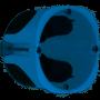 EUROHM 52063 - Boîte étanche à l'air, 1 poste, prof. 50mm