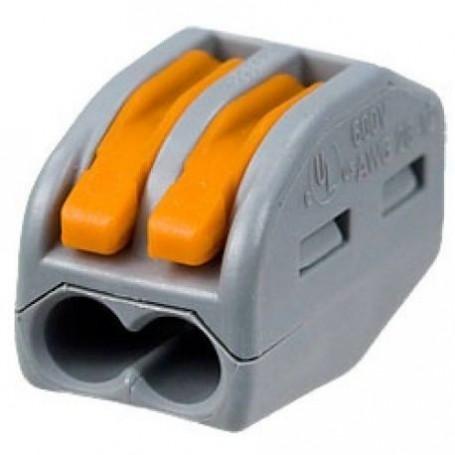 WAGO 222-412 - Bornes de connexion avec leviers 2 x 4mm²