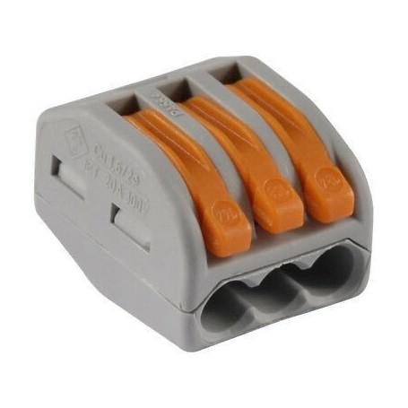 WAGO 222-413 - Bornes de connexion avec leviers 3 x 4mm²