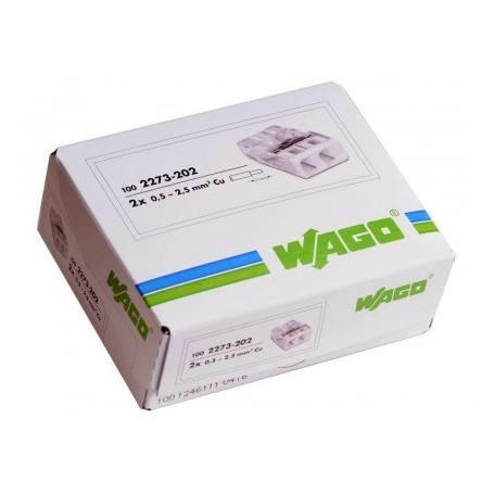 WAGO 2273-202 - Bornes de connexion 2x0,5 à 2,5mm²
