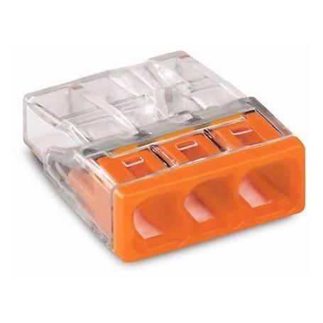 WAGO 2273-203 - Bornes de connexion 3x0,8 à 2,5mm²