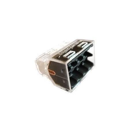 EUROHM 70058 - Bornes de connexion rapide MINI, 8 entrées, Lot de 50