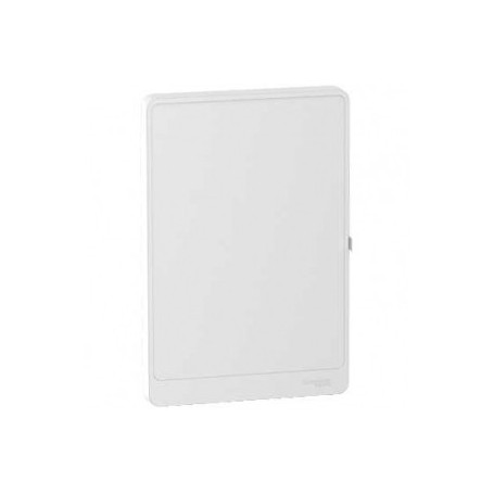 SCHNEIDER R9H13422 - Porte opaque pour coffret, 2 Rangées