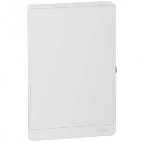 SCHNEIDER R9H18423 - Porte blanc pour coffret Resi9, 3R, 18M