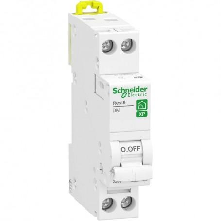 SCHNEIDER R9PFC616 - Disjoncteur, Resi9, XP, 16A, courbe C