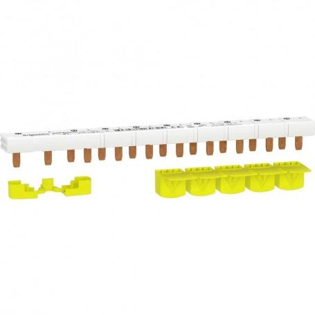 SCHNEIDER R9PXH210 - Peigne monobloc, 1P+N, 63A, 10M