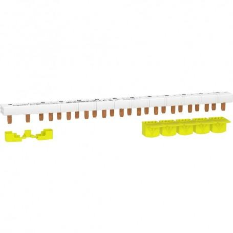 SCHNEIDER R9PXH213 - Peigne monobloc, 1P+N, 63A, 13M