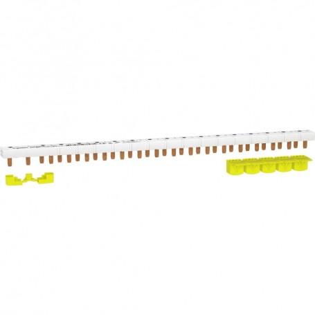 SCHNEIDER R9PXH218 - Peigne monobloc, 1P+N, 63A, 18M