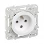 SCHNEIDER S520099 - Prise de courant Blanc, à détrompage