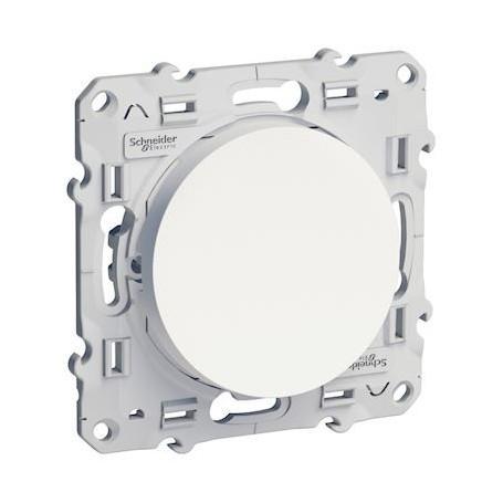 SCHNEIDER S520204 - Interrupteur simple V&V blanc 10A, Odace