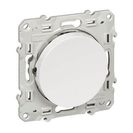 SCHNEIDER S520205 - Permutateur Blanc, 10 A, à vis, Odace