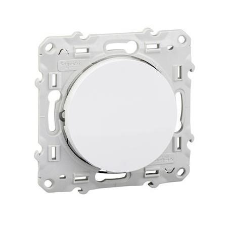 SCHNEIDER S520263 - V&V lumineux Blanc avec LED orange, Odace