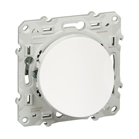 SCHNEIDER S520662 - Sortie de câble Blanc, Odace