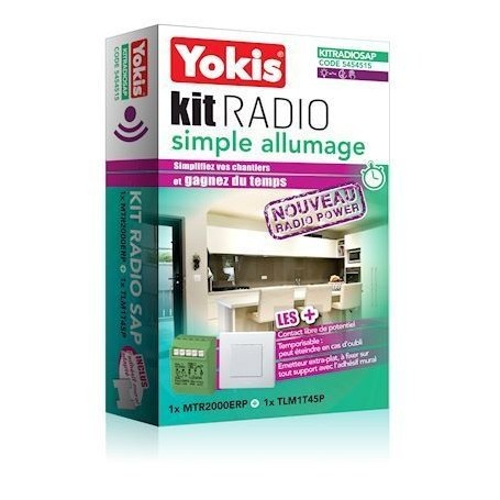 YOKIS KITRADIOSAP - Kit Radio Simple Allumage