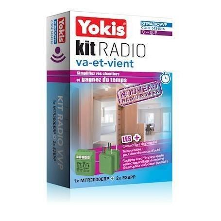 YOKIS KITRADIOVVP - Kit Radio Va-et-Vient - Radio POWER
