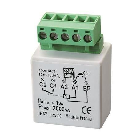 YOKIS MTR2000E - Télérupteur Encastrable, 2000W