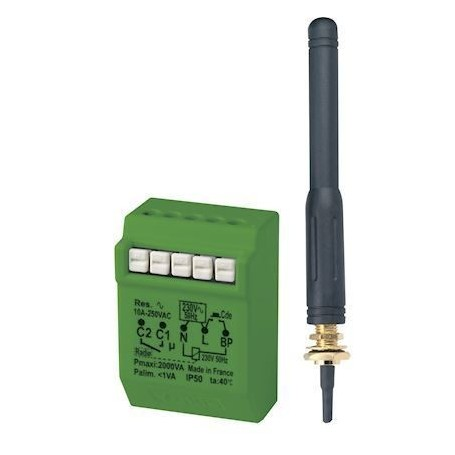 YOKIS MTR2000ERPX - Télérupteur RADIO POWER avec antenne