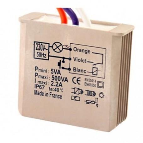 YOKIS MTR500E - Télérupteur Encastrable 500W