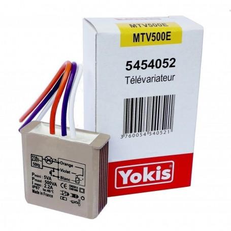 YOKIS MTV500E - Télévariateur Encastrable 500W
