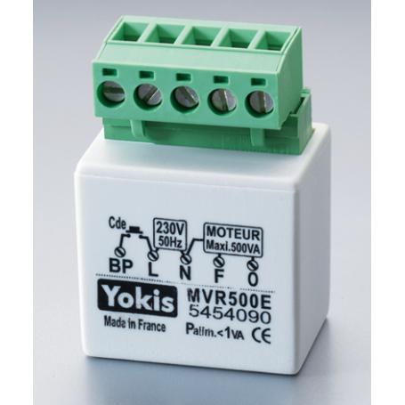 YOKIS MVR500E - Micromodule volets roulants Encastré 500W