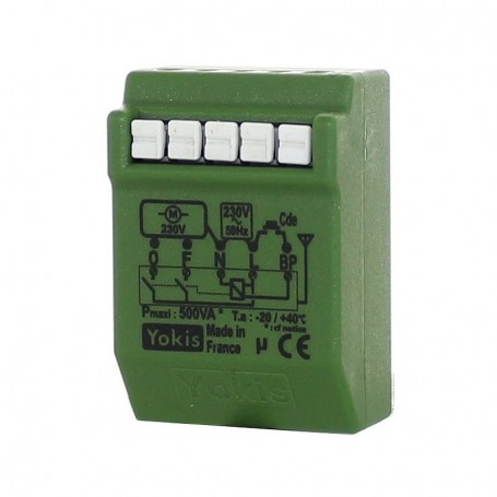 YOKIS MVR500ERP - Micromodule Volet roulant RADIO POWER