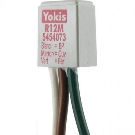 YOKIS R12M - Adaptateur pour poussoir double