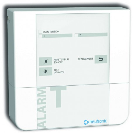 NEUTRONIC ATT2R - Alarme Technique 2 zone avec 1 relais