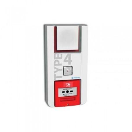 NEUTRONIC TT4PL - Alarme incendie type 4 avec flash