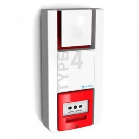 NEUTRONIC TT4P-RF2  - Alarme incendie type 4 Radio à pile