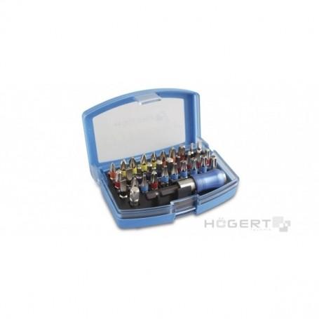 HOGERT HT1S400 - Kit de 32 embouts