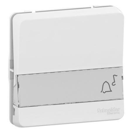 SCHNEIDER MUR39129 - B P avec porte étiquette, Mureva, composable, Blanc