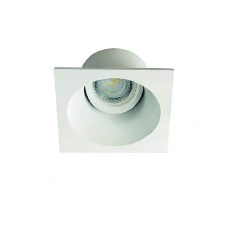 KANLUX 26739 - Spot decoratif, carré, blanc, APRILA