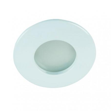 KANLUX 26303 - Spot étanche, rond, blanc, QUELES AC