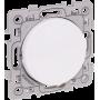 Eurohm 60205 - Bouton poussoir 10A lum. ou tém. Blanc Square