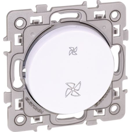 Eurohm 60218 - Inter VMC 2 position Blanc Square
