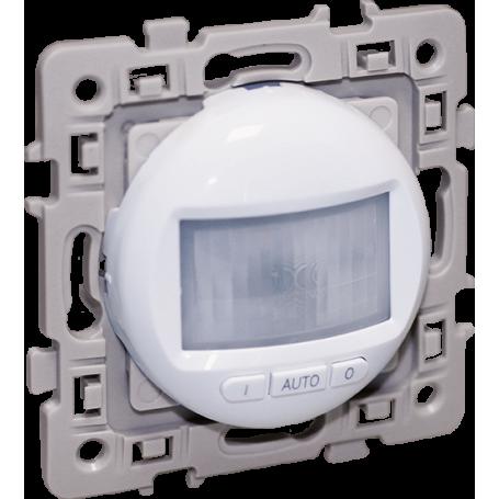 EUROHM 60222 - Détecteur 3 fils, 300W, Blanc, Square