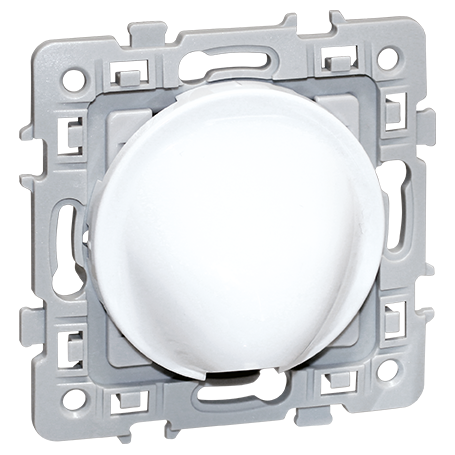 EUROHM 60290 - Sortie câble, 16-20A, Blanc, Square