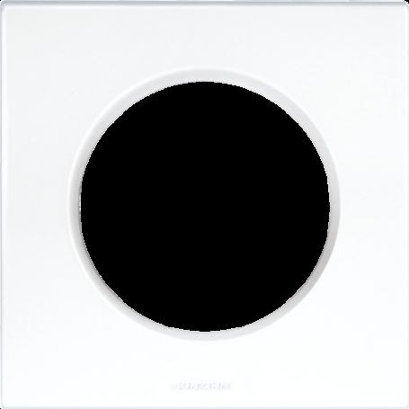 Eurohm 60295 - Plaque Blanc 1 poste, Square