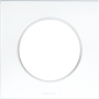 EUROHM 60295 - Plaque, 1 poste, Blanc, Square