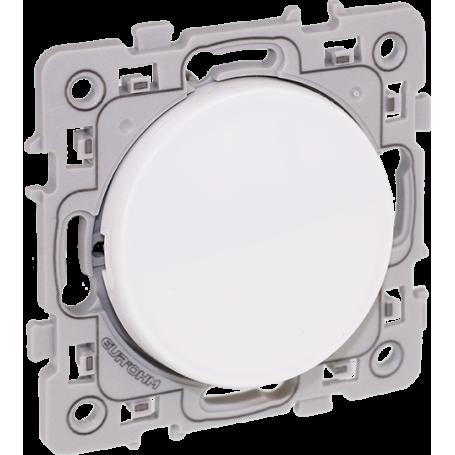 EUROHM 60202 - Bouton poussoir simple, 10 A, Square
