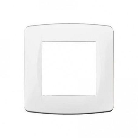EUROHM 61895 - Plaque, 1 Poste, Esprit, Blanc