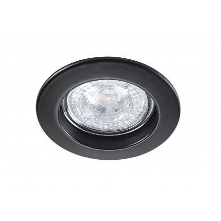 ARIC 4564 - Spot, Encastré, GU10, Rond, Fixe, Noir