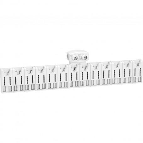 SCHNEIDER R9EXHC13 - Répartiteur Système Embrochable - 13 Modules - Avec Connecteur