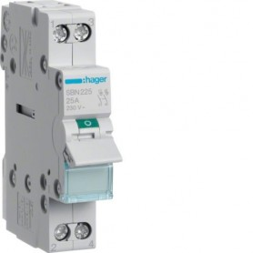 HAGER sbn463 Interrupteur Sectionneur Interrupteur Interrupteur principal 4p 400 V AC 63 A VDE Caractères